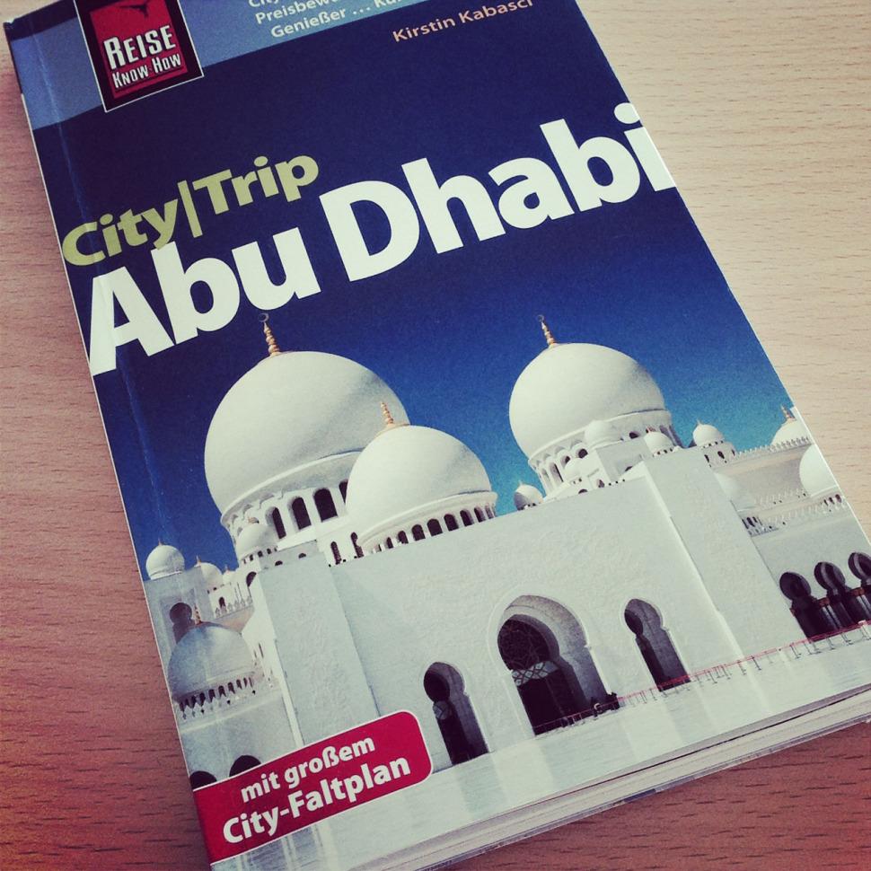 CityTrip Abu Dhabi guide book