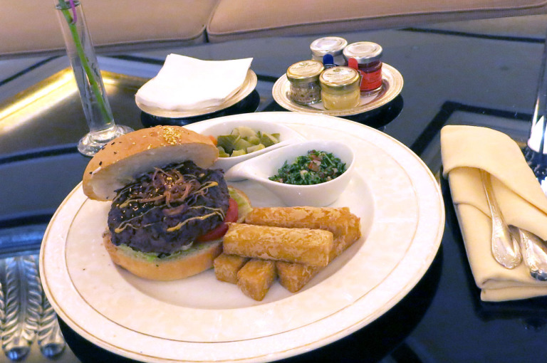 Emirates Palace 24 K Gold Camel Burger