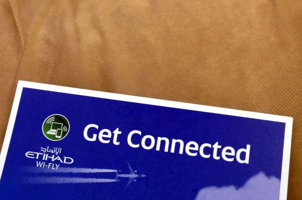 Get connected with Etihad Wi-Fly