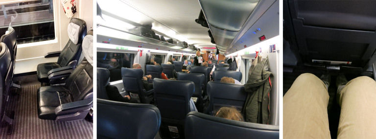 First class of InterCity Express of Deutsche Bahn