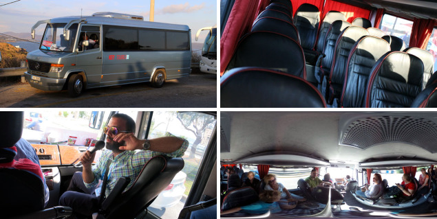 Key Tours luxury bus