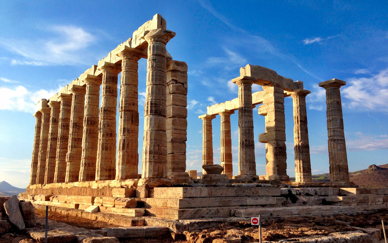 holy ancient greek civilization - HD 1280×800